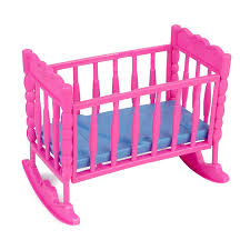 Barbie Living Room Furniture Diy by Barbie Bed For Doll Crib Plastic Diy Assembly Dollhouse Miniature