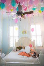 We Snuck Gobs Of Balloons In To Her Room The Night Before Birthday Idea