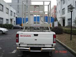 100 Truck Mounted Boom Lift Double Mast Aerial Aluminium Work
