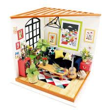 Miniature Furniture Baby Home Nursery For Barbie Doll House Pretend
