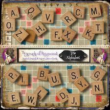 diy project kit scrabble letter tiles scrapbooking scrabble
