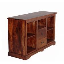 WhiteBlack TV Unit Cabinet Stand LED Light High Gloss Table