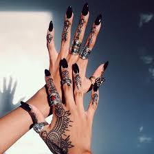Easy Henna Tattoos Designs For Hand
