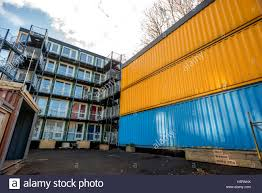 100 Shipping Containers Converted Ouside The Converted Shipping Containers Being Opened This Week By