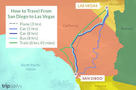 San Diego To Las Vegas: 4 Ways To Travel
