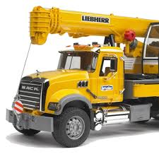 Bruder Toys Mack Granite Liebherr Scale 1:16 Functional Toy Crane ... Bruder Mb Arocs Cstruction Truck With Crane Clamshell Buckets And Nz Trucking Scania R Series Magazine Rseries Liebherr Crane Truck Light Sound Module Vehicle Toys By Bruder Trucks 03570 Walmartcom Arocs With Accsories 3570 Charlies Direct Mack Granite 02818 The Play Room Toy Educational My Lifted Ideas