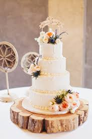 Southern Wedding Rustic Cake Stand
