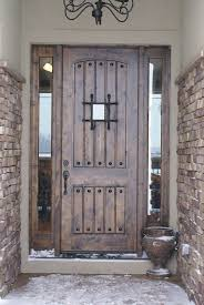 Splendid Rustic Front Door New In Collection Study Room Decor Style For Ideas