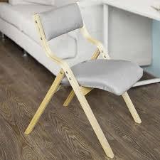 sobuy klappstuhl küchenstuhl mit gepolsterter sitzfläche und lehne fst40 hg