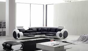 canape blanc noir photos canapé d angle design noir et blanc