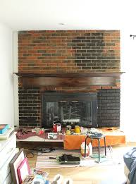 Paint Colors Living Room Red Brick Fireplace by Painted Brick Fireplace Fresh Crush