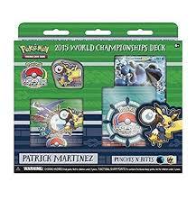 pokemon cards world chionship deck amazon com