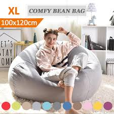 Luxury Large Bean Bag Chair Sofa Cover Indoor/Outdoor Game Seat BeanBag  Adults Soft Bean Bag Chairs Couch Sofa Cover Indoor Lazy Lounger For Adults  ... Jaxx Nimbus Large Spandex Bean Bag Gaming Chair The Best Chairs For Your Rec Room Dorm Covgamer Recliner Beanbag Garden Seat Cover For Outdoor And Indoor Water Weather Resistantfilling Not Included Oversized Solid Green Kids Adults Sofas Couches By Lovesac Shack Bing Comfortable Sofa Giant Bean Bag Chairs Chair Furry Wekapo Stuffed Animal Storage 38 Extra Child 48 Quality Ykk Zipper Premium Cotton Canvas Grey Fur Luxury Living Couchback Rest Sit Beds Buy Lazy Bedliving Elegant Huge Details About Yuppielife Couch Lounger