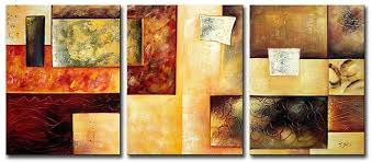 modern paintings on canvas abstract painting set12016