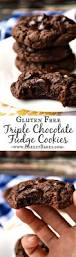 Pumpkin Spice Hershey Kisses Gluten Free by Gluten Free Triple Chocolate Fudge Cookies Breezy Bakes