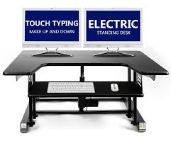 Dual Screen Standing Desk by 60 Off Electric Standing Desk Touch Typing Up Down U2013height