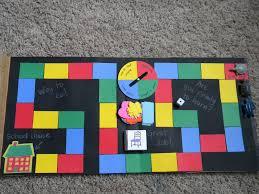 DIY Pizza Box Board Game