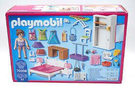 playmobil puppenhaus 70208 schlafzimmer mit nähecke eur