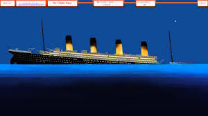 rms titanic sinking simulator youtube