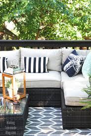 Living Room Makeovers Diy by Our Outdoor Living Room U0026 Diy Deck Makeover Reveal Making Lemonade