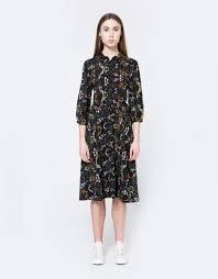 down floral dress
