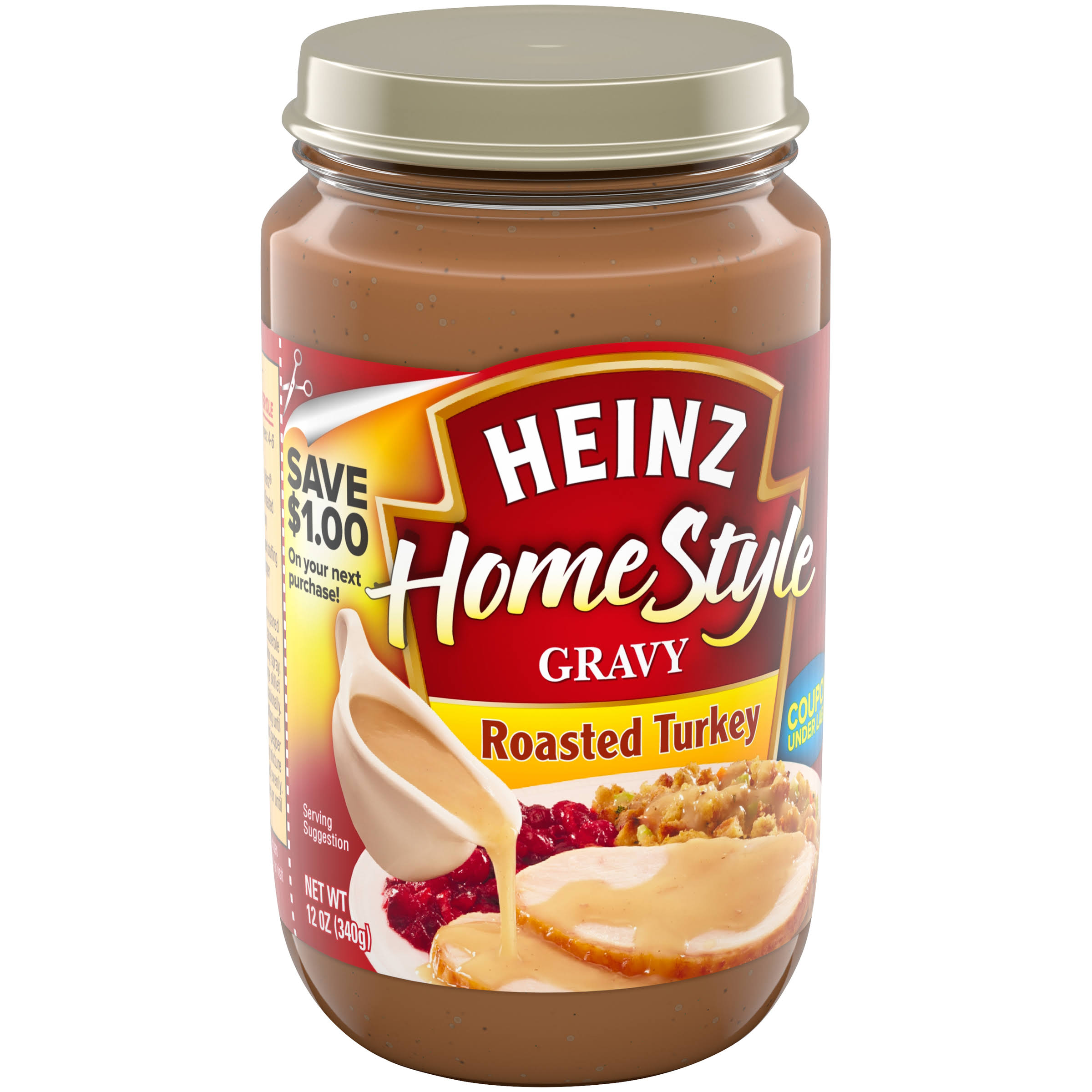 Heinz Home Style Roasted Turkey Gravy - 12oz