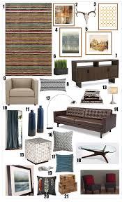 Jessis Mid Century Modern Meets Rustic Living Room