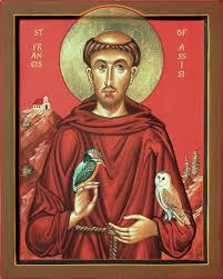 st francis of assisi aidan hart sacred icons