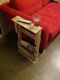 12 DIY Pallet Side Tables End