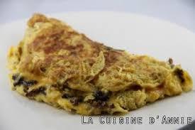 cuisiner les morilles recette omelette aux morilles séchées la cuisine familiale un