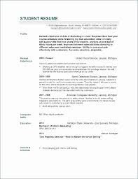 Recent College Graduate Resume Examples The Proper New Grad