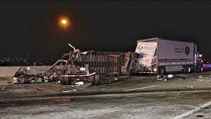 Driver Killed After His Semi-truck Flips In Northwest Indiana ...