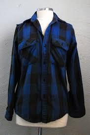 blue black plaid flannel shirt museum of favorite shirts