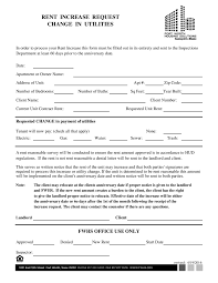 rent increase notice letter sample Savesa