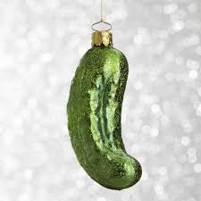 Pickle On Christmas Tree Myth by Best 25 Pickle Ornament Ideas On Pinterest Christmas Pickle