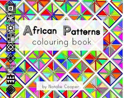 African Patterns Colouring Book