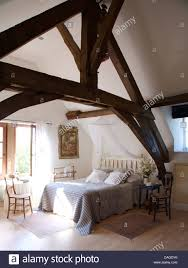 100 Rustic Ceiling Beams Wooden Beams On Apex Ceiling In French Country