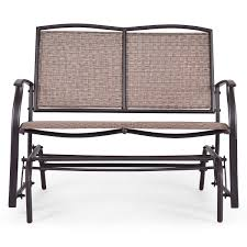 Amazon.com : Wenst'sKufAN Patio Glider Chair, Outdoor ... Details About Garden Glider Chair Tray Container Steel Frame Wood Durable Heavy Duty Seat Outdoor Patio Swing Porch Rocker Bench Loveseat Best Rocking In 20 Technobuffalo The 10 Gliders Teak Mahogany Exclusive Fniture Accsories Naturefun Kozyard Fleya Smooth Brilliant Outsunny Double How To Tell If Metal And Decor Is Worth Colorful Mesh Sling Black Buy Chairoutdoor Chairrecliner Product On Alibacom Silla De Acero Con Recubrimiento En Polvo Estructura
