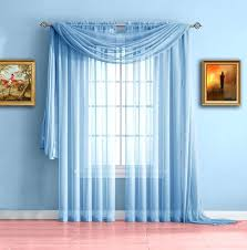 Pink Sheer Curtains Walmart by Baby Blue Sheer Curtains U2013 Evideo Me