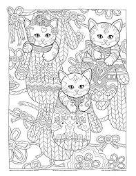 Mittens Creative Kittens Coloring Book By Marjorie Sarnat