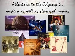 the odyssey in modern allusions in the odyssey ppt