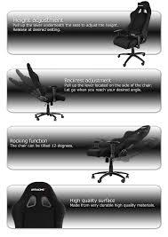 Akracing Gaming Chair Malaysia by Akracing Octane Gaming Chair U2013 Black 11street Malaysia