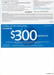 Chase Coupons 300 / Childrens Place Canada Free Shipping ... Roundup Of Bank Bonuses 750 At Huntington 200 From Chase Total Checking Coupon Code 100 And Account Review Expired Targeting Some Ink Cardholders With 300 Brighton Park Community Bonus 300 Promotion Palisades Credit Union Referral 50 New Is It A Trap Offering Just To Open Checking Promo Codes 350 500 625 Business Get With 600 And Savings Accounts Handcurated List The Best Sign Up In 2019 Promotions Virginia