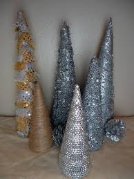 Pine Cone Christmas Tree Tutorial by Frugal Home Design Diy Cone Shaped Christmas Trees