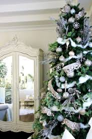White Flocked Pencil Christmas Tree by 123 Best Realistic Christmas Trees Images On Pinterest Balsam
