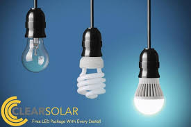 free led light package with e clear solar office photo