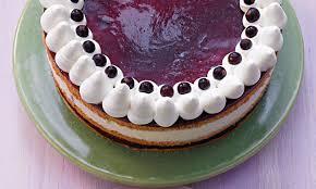 cassis buchweizen torte