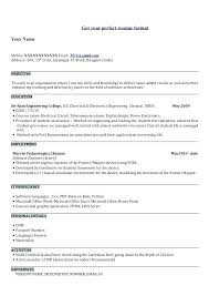 Civil Engineering Resume Sample Of Fresher 4 Get Your Perfect Example