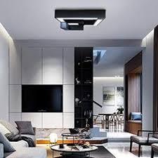 inspiration zmh led deckenleuchte wohnzimmer modern dimmbar