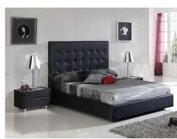 Black Leather Headboard Single by 622 Penelope Storage Bed Tufted Black 1 500 00 Furniture